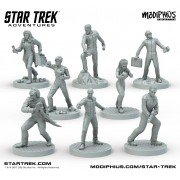 Star Trek Adventures - Miniatures : The Next Generation Bridge Crew
