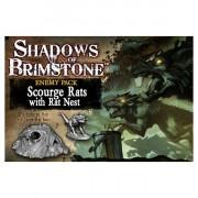 Shadows of Brimstone - Scourge Rats - Rats Nest Enemy Set pas cher