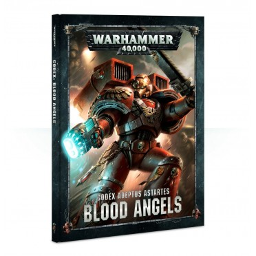 W40K : Codex - Adeptus Astartes Blood Angels 8ème Edition VF (Rigide)