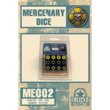 Dust - Set de Dés Mercenaires