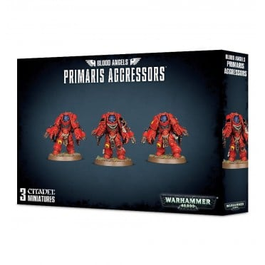 W40K : Adeptus Astartes - Blood Angels Primaris Agressors