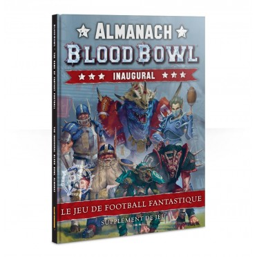 Blood Bowl : The Inaugural Blood Bowl Almanac VF (Rigide)