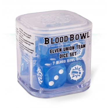 Blood Bowl : Accessoires - Elven Union Dice Set