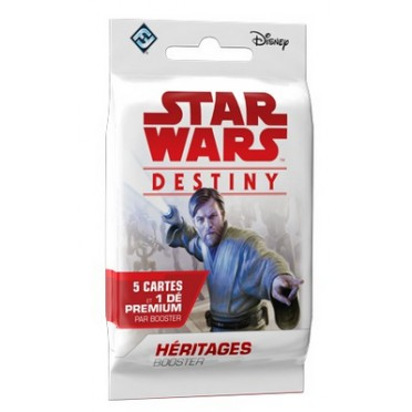 "Star Wars Destiny : Booster VF ""Héritages"""