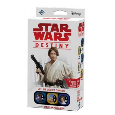 Star Wars Destiny : Starter VF Luke Skywalker