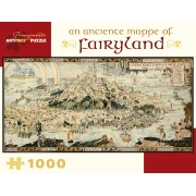 Puzzle - An Anciente Mappe of Fairyland de Bernard Sleigh - 1000 Pièces