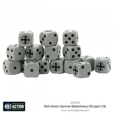 Bolt Action - German Balkenkreuz D6 Pack