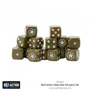 Bolt Action - Allied Star D6 Pack