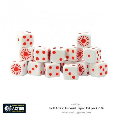 Bolt Action - Imperial Japanese D6 Pack