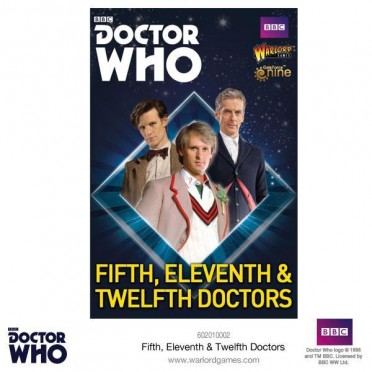 Doctor Who - Fifth, Eleventh & Twelfth Doctors