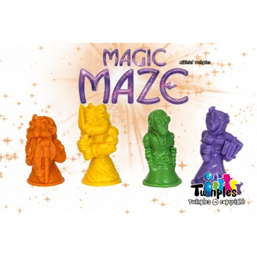 Twinples Magic Maze