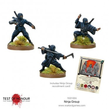 Test of Honour - Ninja Group
