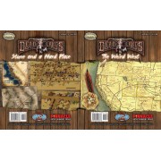 Deadlands - Stone and a Hard Place Poster Map