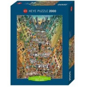 Puzzle - Degano Cartoon Protest - 2000 Pièces