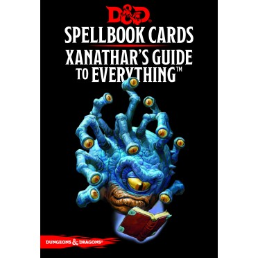 D&D - Spellbook Cards - Xanathar's Guide to Everything