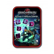 Set de dés - Shadowrun - Rouge