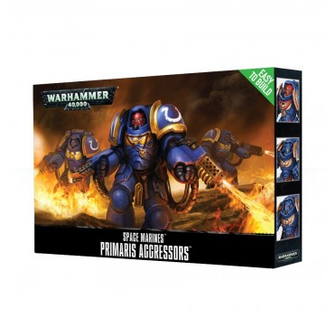 W40K : Easy to Build - Adeptus Astartes Primaris Aggressors