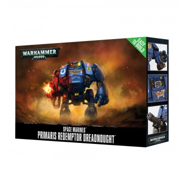 W40K : Easy to Build - Adeptus Astartes Primaris Redemptor Dreadnought