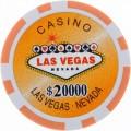Jetons Vegas 20000$ 1
