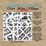 DungeonMorph Cards - Cities, Ruins and Villages
