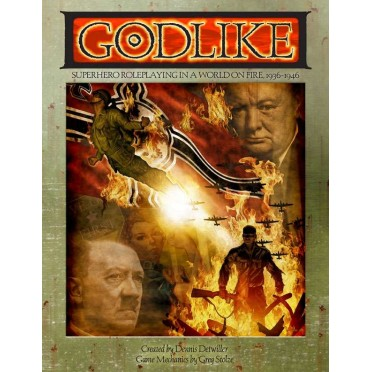 GODLIKE - Superhero Roleplaying in a World on Fire