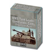 WWII Tank Leader - Commander Cards Expansion pas cher