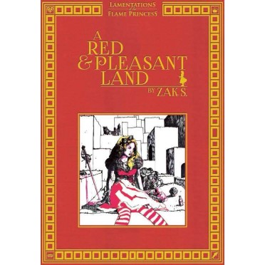 Lamentations of the Flame Princess - A Red & Pleasant Land (Anglais)