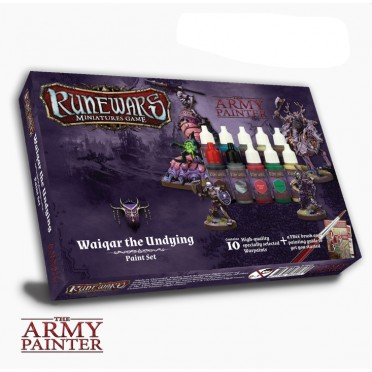 Runewars Waiqar the Undying Paint Set