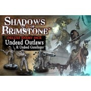 Shadows of Brimstone : Undead Outlaws and Undead Gunslingers Deluxe Enemy Pack pas cher
