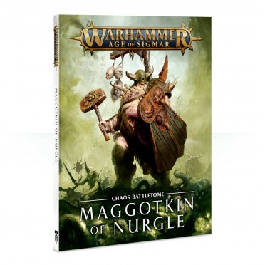 Age of Sigmar : Battletome - Maggotkin of Nurgle VF (Souple)