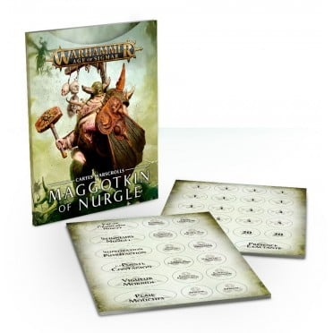 Age of Sigmar : Warscroll Cards - Maggotkin of Nurgle VF
