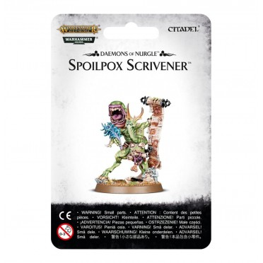 Chaos Daemons : Nurgle - Spoilpox Scrivener