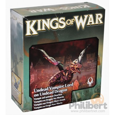 Kings of War - Seigneur Vampire sur Dragon Zombie