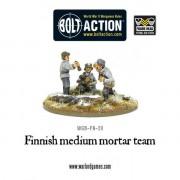 Bolt Action - Finnish Medium Mortar Team pas cher