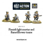 Bolt Action - Finnish Light Mortar & Flame Thrower pas cher