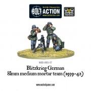 Bolt Action - Blitzkrieg German 81mm Medium Mortar Team (1939-42) pas cher