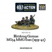 Bolt Action - Blitzkrieg German MG34MMG Team (1939-42) pas cher