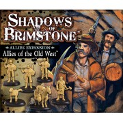 Shadows of Brimstone: Allies of the Old West Ally Pack pas cher