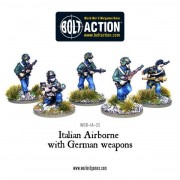 Bolt Action - Italian Airborne with German Weapons pas cher