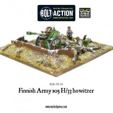 Bolt Action - Finnish 105 H/33 Howitzer
