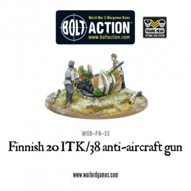 Bolt Action - Finnish ITK/38 Anti-aircraft Gun