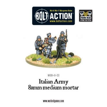 Bolt Action - Italian Army 81mm Medium Mortar