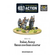 Bolt Action - Italian Army 81mm Medium Mortar pas cher