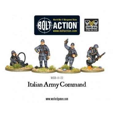 Bolt Action - Italian Army HQ
