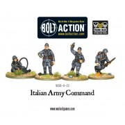 Bolt Action - Italian Army HQ pas cher