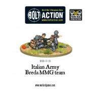 Bolt Action - Italian Army Breda Medium Machine Gun Team pas cher