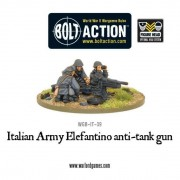 Bolt Action - Italian Army 47mm Elefantino Anti-Tank Gun pas cher