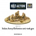 Bolt Action - Italian Army 47mm Elefantino Anti-Tank Gun 5