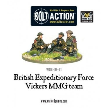 Bolt Action - BEF Vickers MMG Team (1939-40)