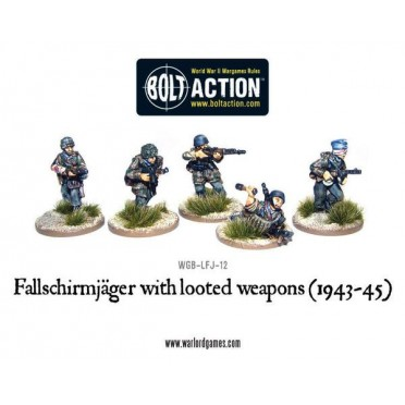 Bolt Action - Fallschirmjager with Looted Weapons (1943-45)